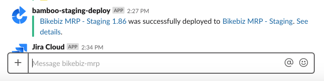 Another Slack notification