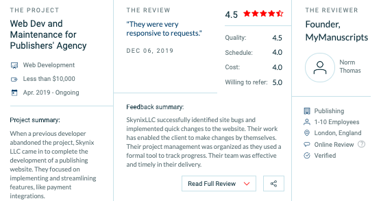 Skynix is one of the best software development firms in Ukraine